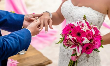 Букет невесты из гербер - изысканная простота!