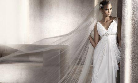 Греческое свадебное платье - стильный наряд