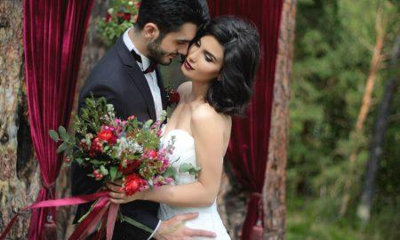 Свадьба в цвете марсала - изысканный праздник