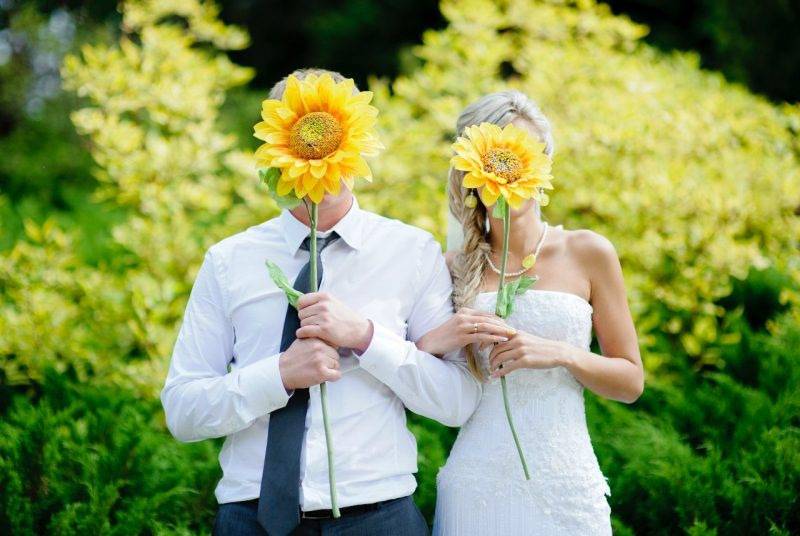 Свадьба в августе преимущества