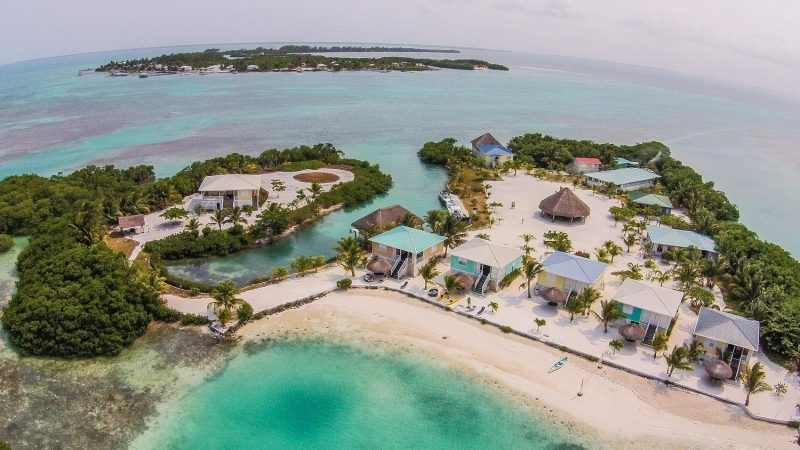 LITTLE FRENCHMAN CAYE, BELIZE - Caribbean real estate continues to be in extremely high demand among ultra high net worth individuals. Private islands such as Royal Palm Island provide wealthy investors with extreme privacy and an abundance of natural amenities not found in traditional real estate markets. (PRNewsFoto/SANCAS Realty)
