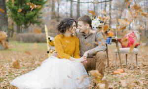 Организация свадьбы в ноябре