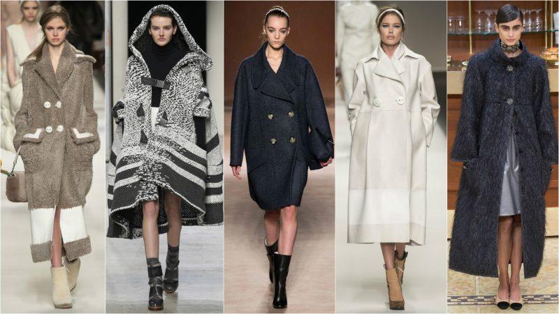 Женские пальто осени 2017