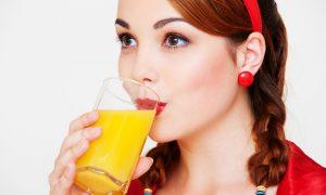 Как удалить пятно от сока
