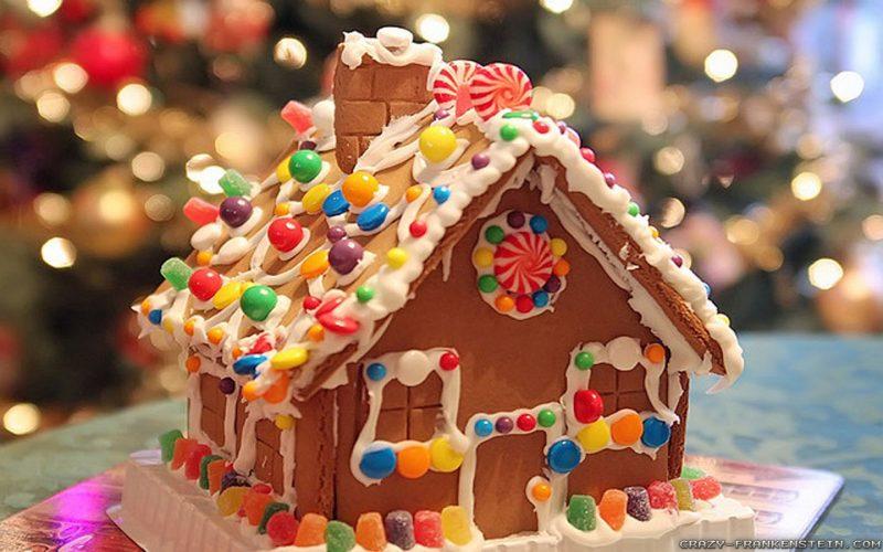 Декор из сладостей