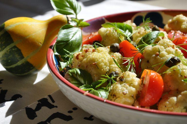 салат из цветной капустой