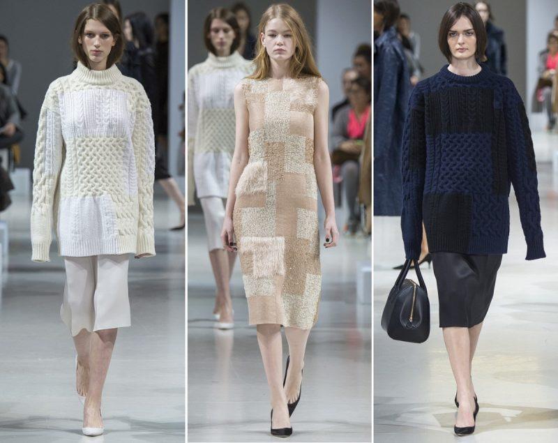Красивые, модные и стильные вязанные вещи - тренд этой зимы