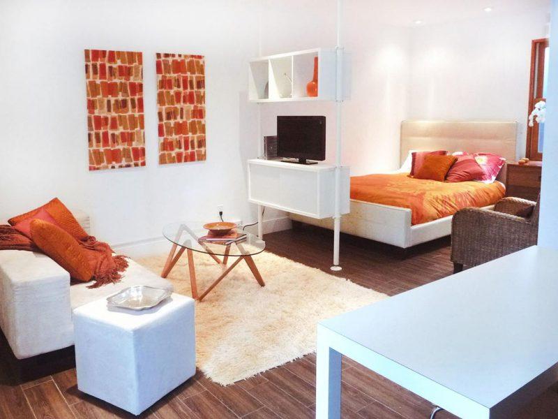 Оформление спальни и гостиной