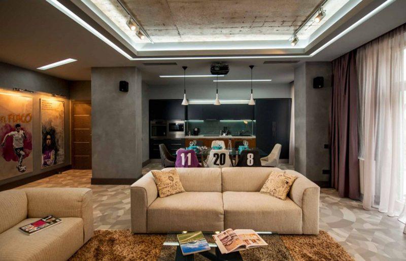 Популярные варианты для квартиры-студии