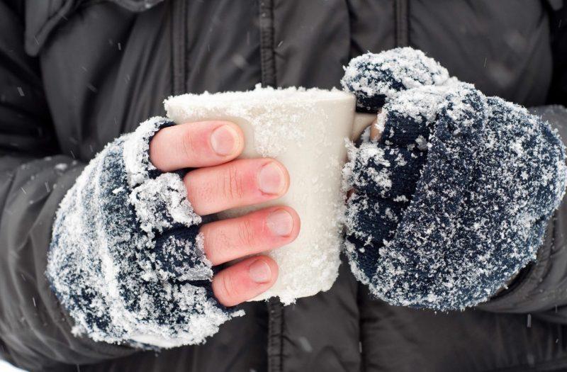 Степени обморожения