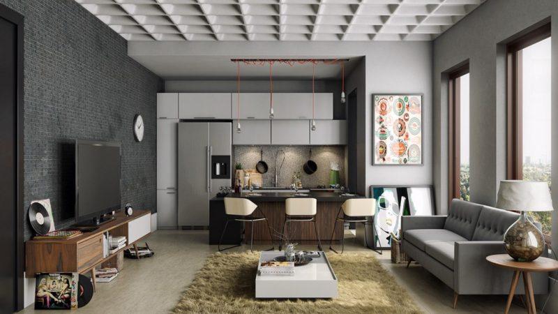 Важные правила создания интерьера в квартире-студии