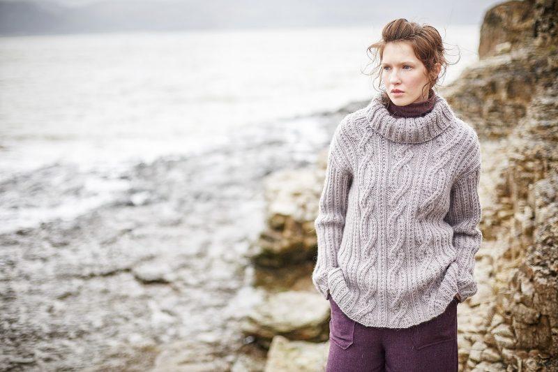 Вязаные свитера 2018